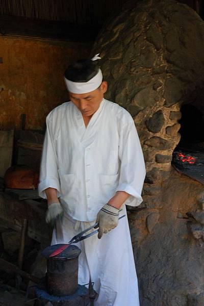 韓國民俗村 - 打鐵師傅