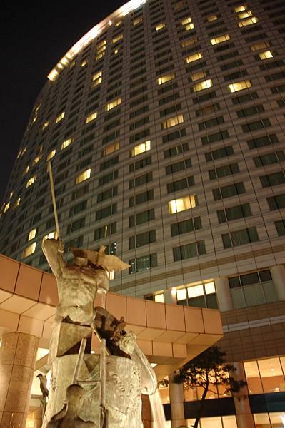 Coex Inter-Continental Hotel - 外觀夜景