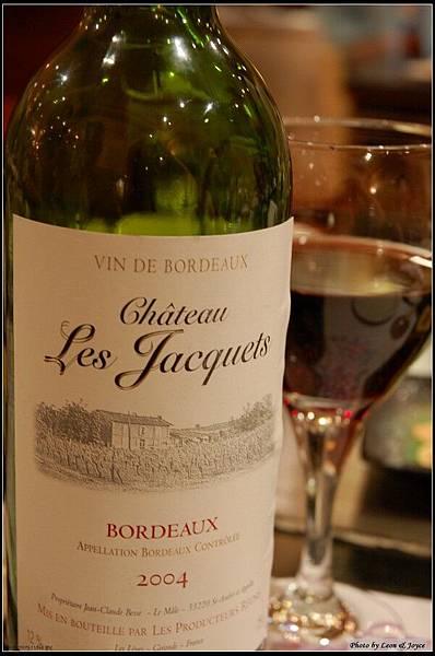 今晚喝的法國紅酒