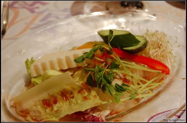 生菜沙拉,我選和風口味