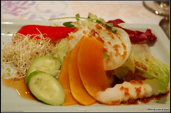 第3道 生菜沙拉和風口味