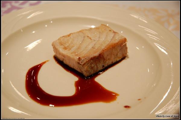 第4道 紅魽生魚片