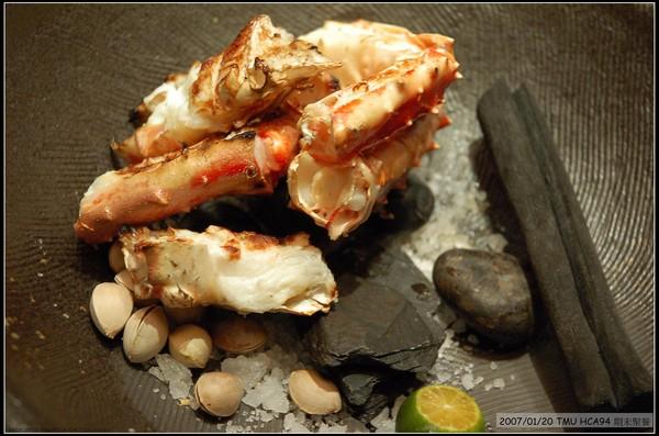 鹽烤鱈場蟹腳