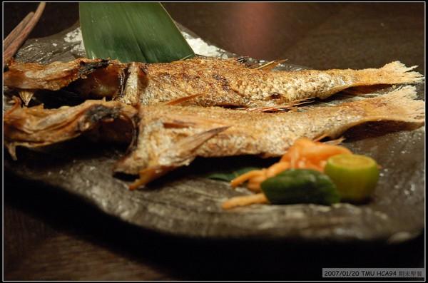 鹽烤紅喉魚