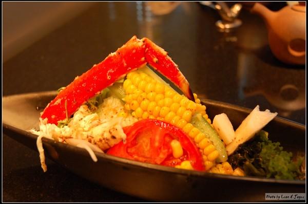 鱈場蟹腳沙拉
