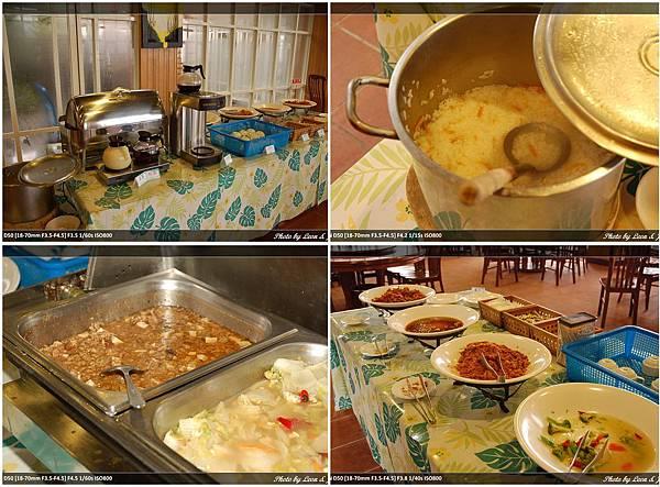 翠峰山莊早餐