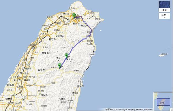 台北至福壽山