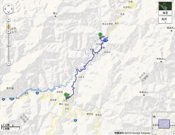 福壽山至武陵