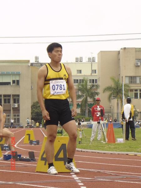 男子400mr 第一棒
