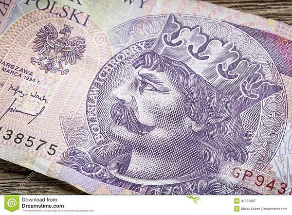 钞票的波兰中世纪国王-41389067