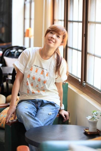 2012跟著貓咪動一動有機棉T-SHIRT