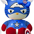 Hello Captain Amerikitty