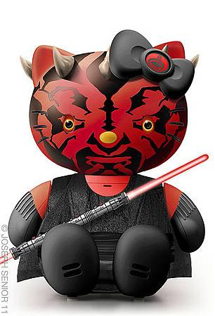 Hello Darth Maul Kitty