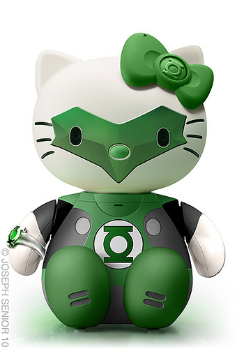 Hello Green Lantern