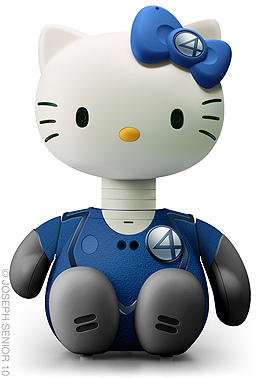 Hello Mr Fantastic Kitty