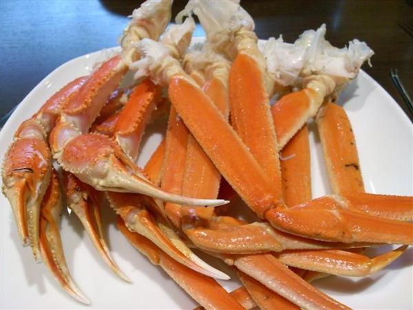 這次的螃蟹不會鹹了 很清甜