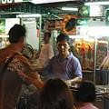 晚上十點過後的吉隆坡還是這麼熱鬧