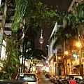 夜晚的吉隆坡的確很美