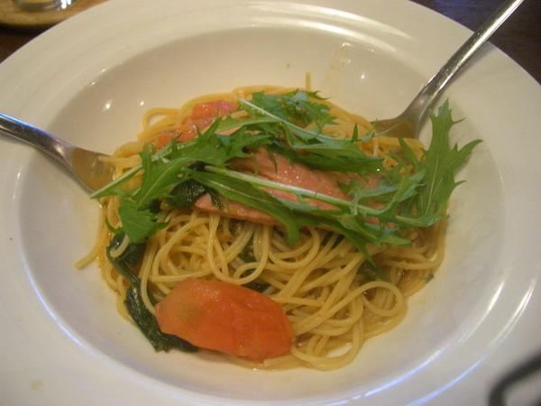 和風培根菠菜pasta