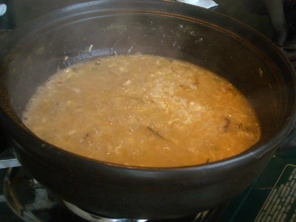 螃蟹火鍋雜粥