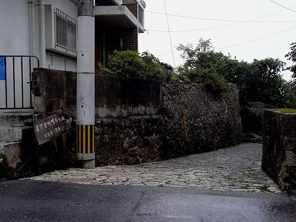 還經過無緣前往的石疊道入