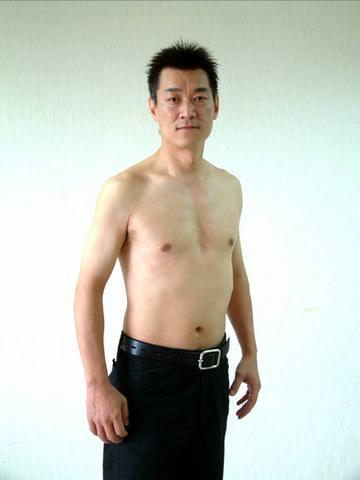 Ken使用前-74公斤減重4公斤