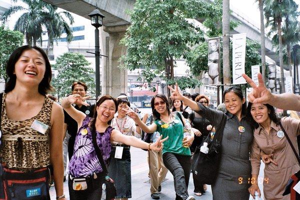 多往泰國總公司的路程一路都是開心的