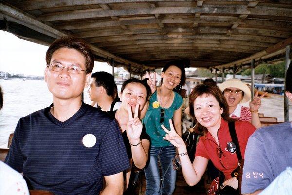 搭船遊湄南河