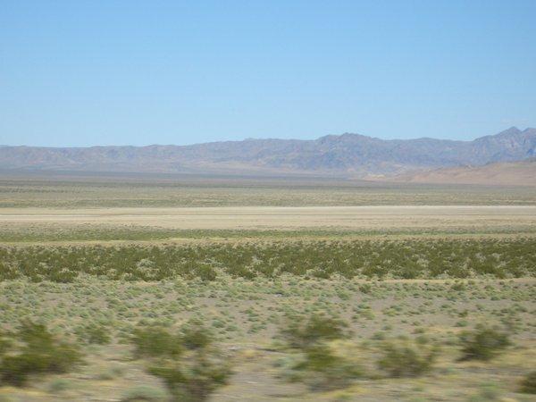 往拉斯維加斯LV的途中