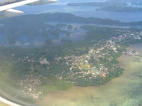 帛琉空照圖二