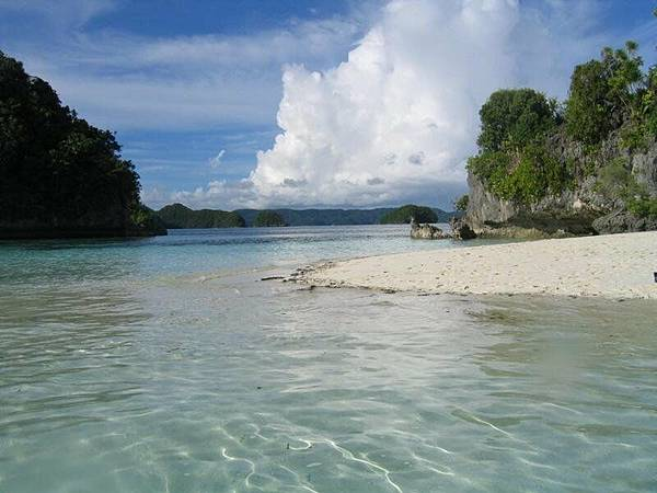 很多珊瑚島的國家哦