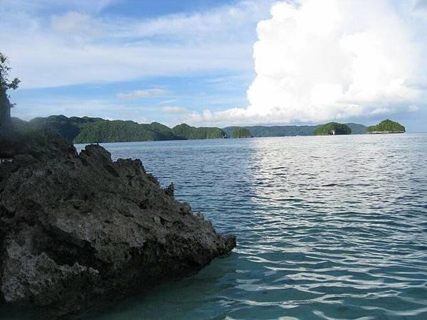 看到珊瑚岩了嘛?