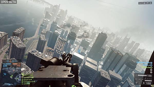 BF4 Beta 特效中 上海之圍 貼圖