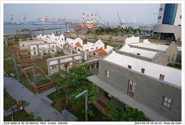 紅毛港部份建築遺址