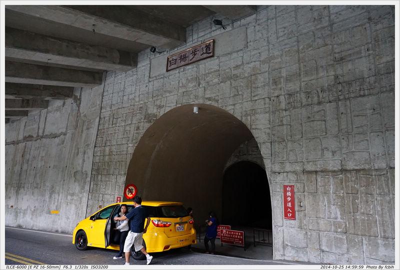 白楊步道入口