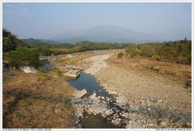 乾枯的河床