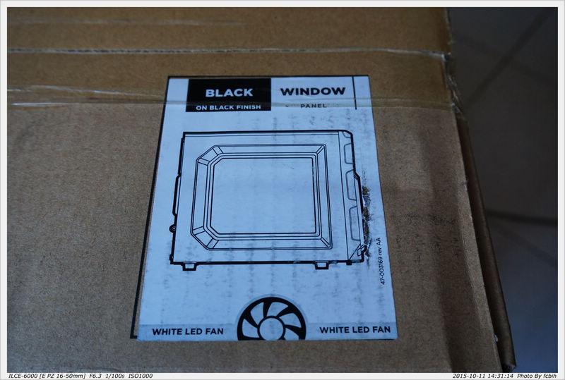 黑色,前風扇Led白光