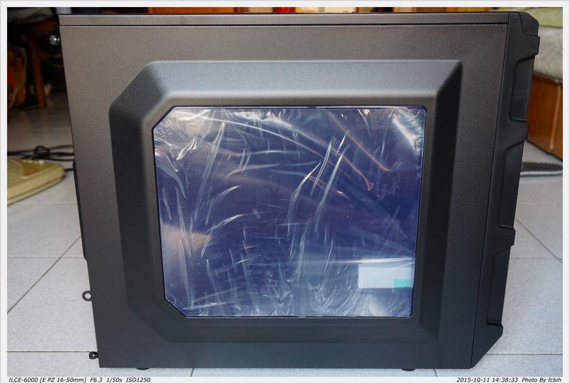 左-透明側板