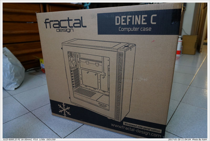 fractal design Define C