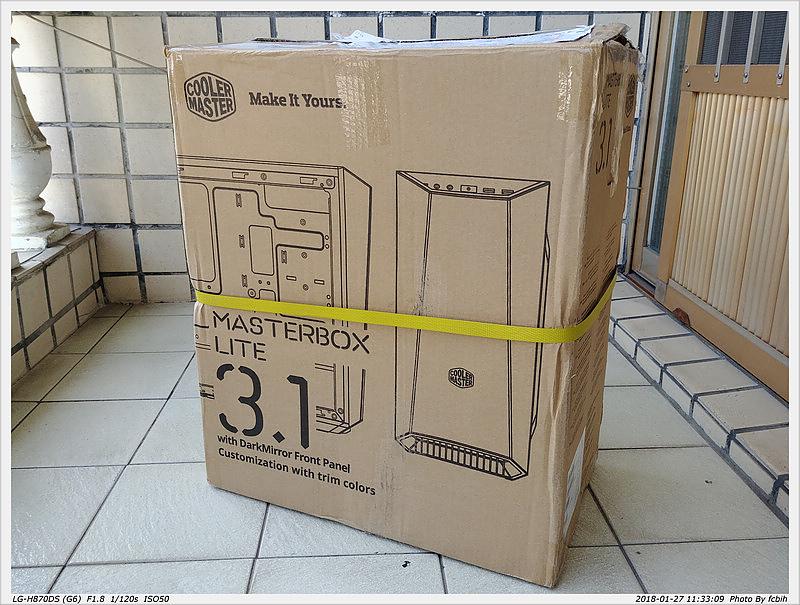 Case: Coolermaster Masterbox Lite 3.1