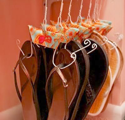 how-to-make-a-shoe-hanger-organize