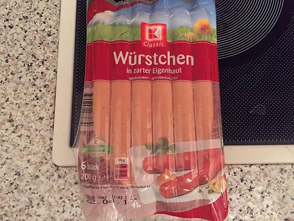 一般德國香腸
