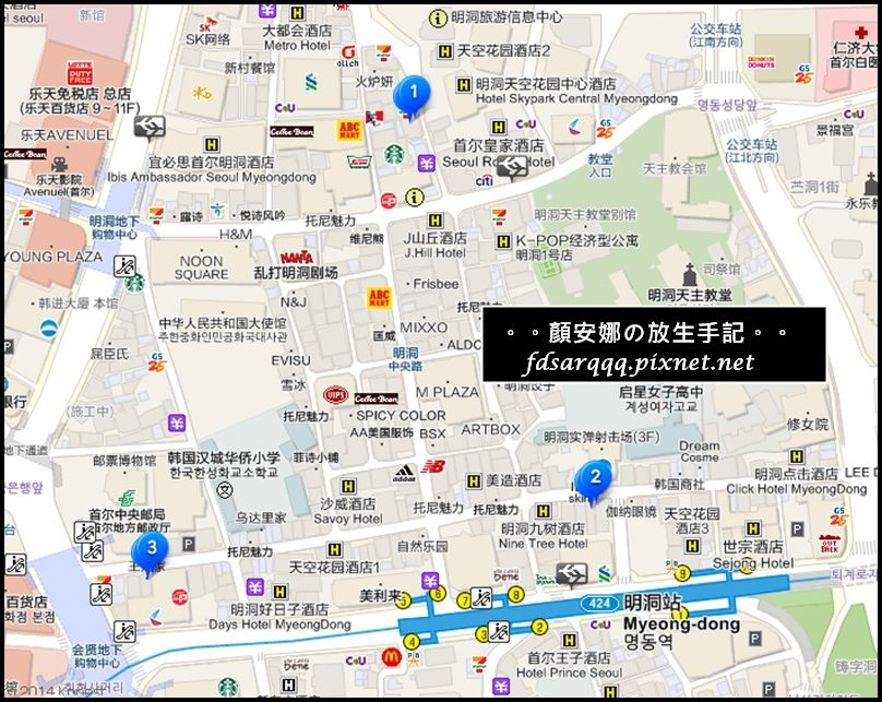 王妃家map