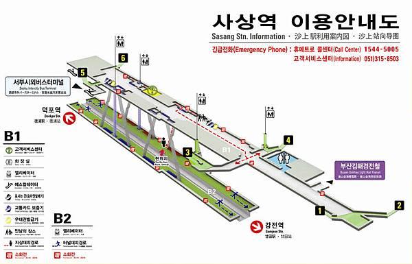 busan-sasang-station-floor-plan