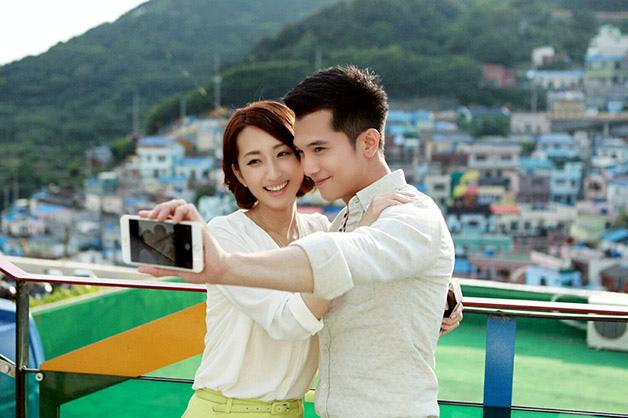【必娶女人】邱澤、柯佳嬿-造訪釜山有名景點-甘川洞2