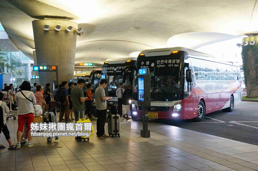 01行前準備(五)仁川機場_1樓_機場巴士
