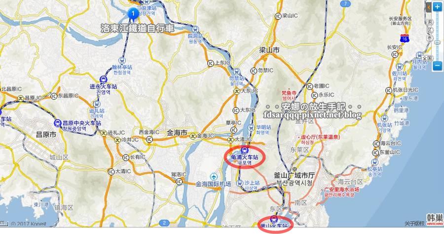 釜山鐵道自行車01