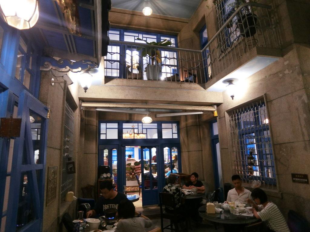 台南蔬食餐廳推薦,最有特色的建築美學歷史老洋房赤崁璽樓-原禪食餐廳【丁小羽素食篇】