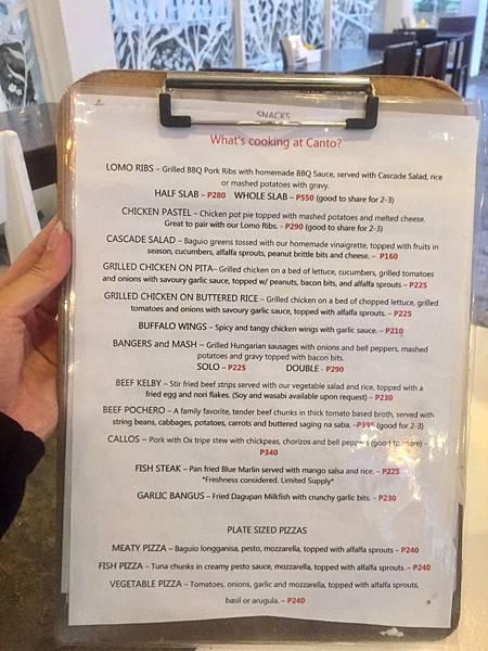 菲律賓碧瑤自由行-網美必去的玻璃屋餐廳Canto Bogchi Joint【丁小羽旅遊篇】