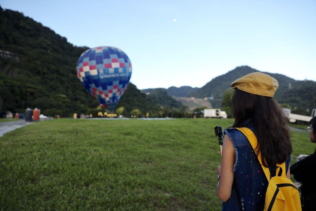 桃園一日遊必去的桃園景點-2019桃園石門水庫熱氣球嘉年華【丁小羽旅遊篇】